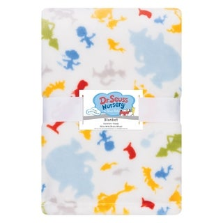 Dr. Seuss Friends Plush Baby Blanket