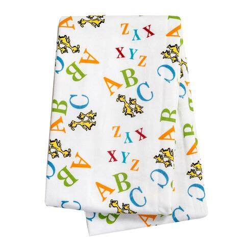 Dr. Seuss ABC Flannel Swaddle Blanket