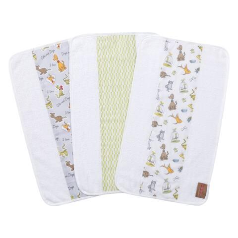 Dr. Seuss What Pet Should I Get? 3 Pack Jumbo Burp Cloth Set