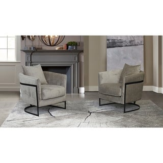 Armen Living Swan Contemporary Accent Chair