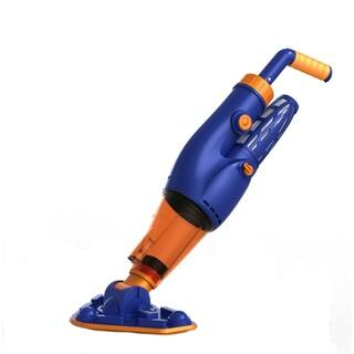 Hurricane Pool Cleaner - Powerful, Cordless, Rechargeable Vacuum for Swimming Pools and Spas - Blue/Orange