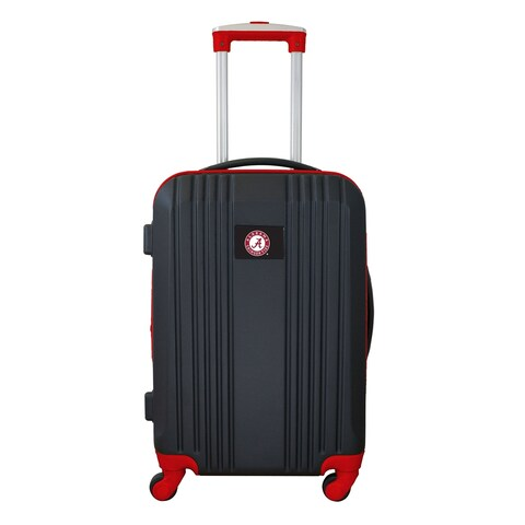 NCAA Alabama Crimson Tide Luggage Carry-on 21in Hardcase two-tone Spin