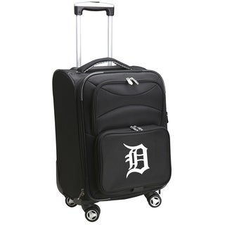 MLB Detroit Tigers Luggage Carry-On 21in Spinner Softside Nylon