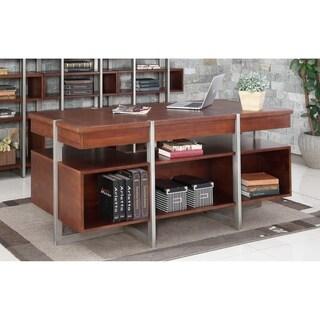 """Austere Antiques 66"""" Executive Desk"""