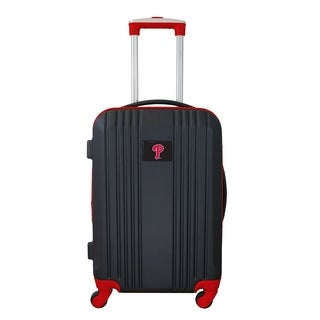 MLB Philadelphia Phillies Luggage Carry-on 21in Hardcase two-tone Spin