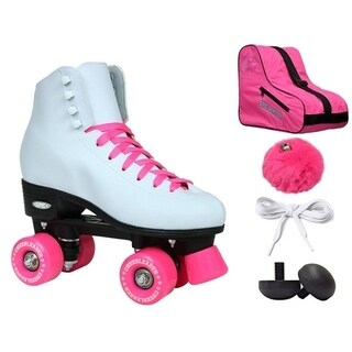 Epic Cheerleader High-Top Quad Roller Skate Bundle