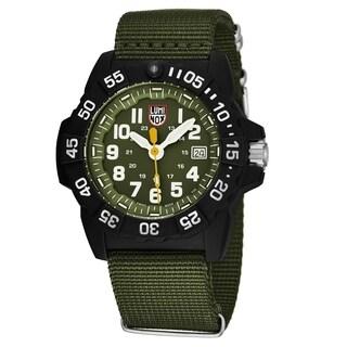 Luminox Women's XS.3503.ND 'Navy Seal 3500' Blue Dial Blue Nylon Strap Time Date Swiss Quartz Watch