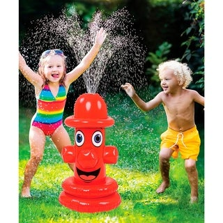 Inflatable Fire Hydrant Sprinkler - Kids Fun Game inflatable Hydrant Spinkler