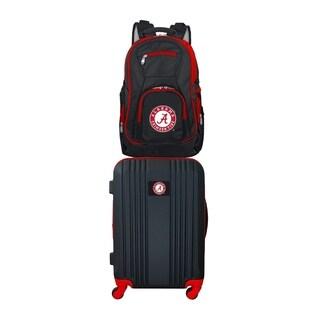 NCAA Alabama Crimson Tide 2 Piece Set Luggage and Backpack