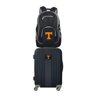 NCAA Tennessee Vols 2 Piece Set Luggage and Backpack