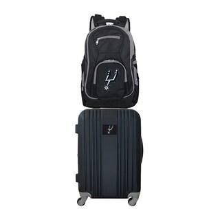 NBA San Antonio Spurs 2 Piece Set Luggage and Backpack