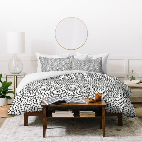 Holli Zollinger Mosaic Scallop Light Duvet Cover Set