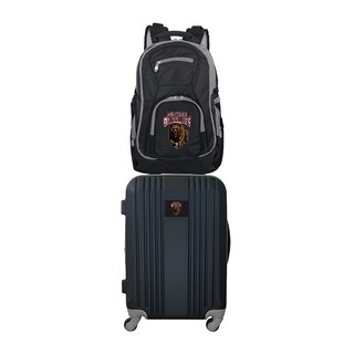 NCAA Montana Grizzlies 2 Piece Set Luggage and Backpack