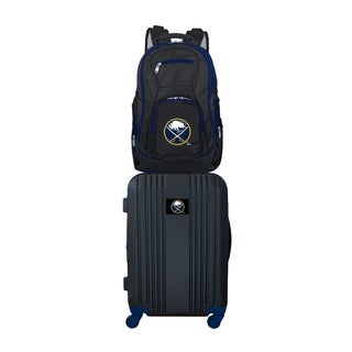 NHL Buffalo Sabres 2 Piece Set Luggage and Backpack