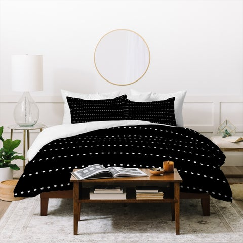 Deny Designs Dot Stripes Duvet Cover Set (3-Piece Set)