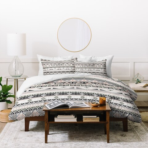 Deny Designs Geometric Aztec Duvet Cover Set (3-Piece Set)