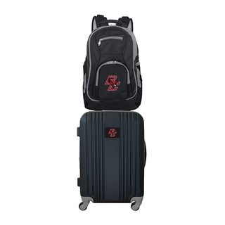 NCAA Boston College Eagles 2 Piece Set Luggage and Backpack