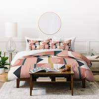 The Old Art Studio Maximalist Geometric 01 Duvet Cover Set