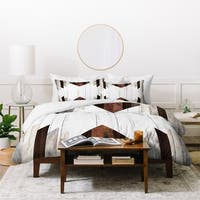 Iveta Abolina Geo Wood 2 Duvet Cover Set