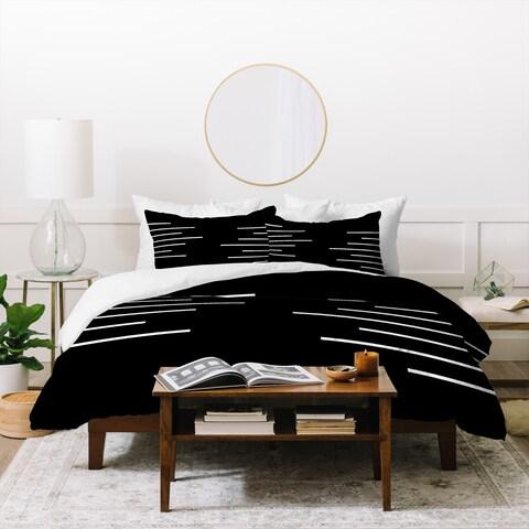 Deny Designs Geometric Stripes Duvet Cover Set (3-Piece Set)