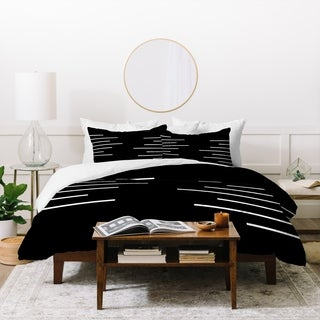Deny Designs Geometric Stripes Duvet Cover Set (3-Piece Set)