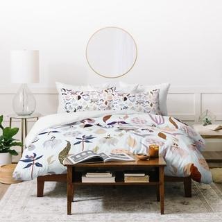 Link to Deny Designs Garden Floral Duvet Cover Set (3-Piece Set) Similar Items in Duvet Covers & Sets