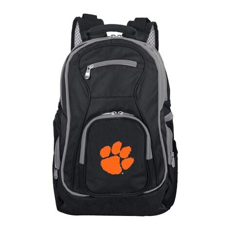 NCAA Clemson Tigers Trim color Laptop Backpack