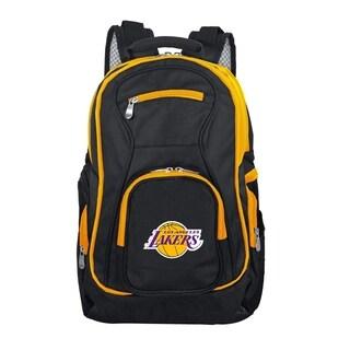 NBA LA Lakers Trim color Laptop Backpack