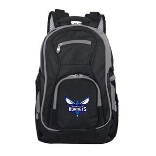 NBA Charlotte Hornets Trim color Laptop Backpack