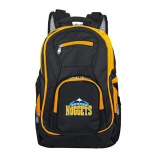 NBA Denver Nuggets Trim color Laptop Backpack