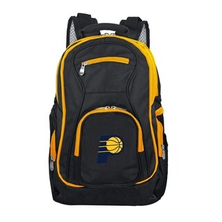NBA Indiana Pacers Trim color Laptop Backpack