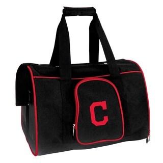 MLB Cleveland Indians Pet Carrier Premium 16in bag