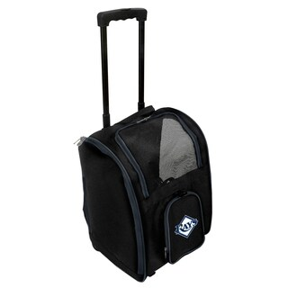 MLB Tampa Bay Rays Pet Carrier Premium bag with wheels