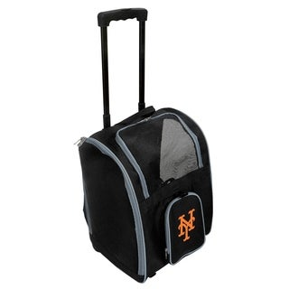 MLB NY Mets Pet Carrier Premium bag with wheels