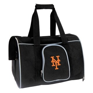 MLB NY Mets Pet Carrier Premium 16in bag