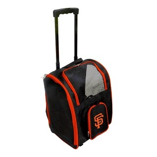 MLB San Francisco Giants Pet Carrier Premium bag with wheels
