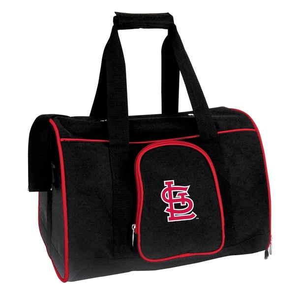 Mlb St Louis Cardinals Pet Carrier Premium 16in Bag