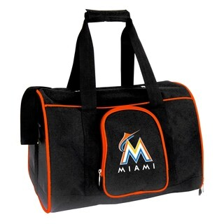 MLB Miami Marlins Pet Carrier Premium 16in bag