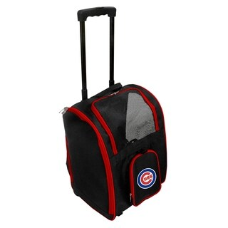 MLB Chicago Cubs Pet Carrier Premium bag with wheels