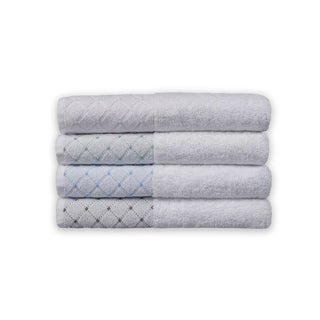 Link to Eileen West 6 Piece Jacquard Border Towel Sets Similar Items in Towels
