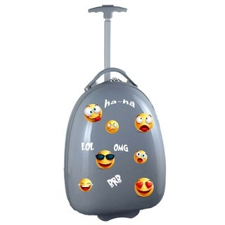 Emoji Kids Pod Luggage in Gray