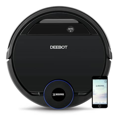 ECOVACS DEEBOT OZMO 930 2-in-1 Smart Robotic Vacuum Cleaner with Advanced Navigation/Mapping and OZMO Mopping