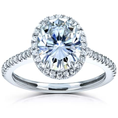 Buy Moissanite Rings Online at Overstock   Our Best Rings Deals