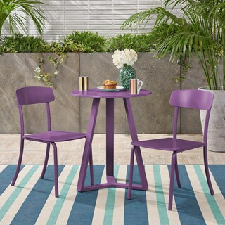 Samos Outdoor Bistro Set by Christopher Knight Home