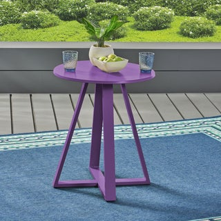 Haiti Outdoor Iron Bistro Table by Christopher Knight Home