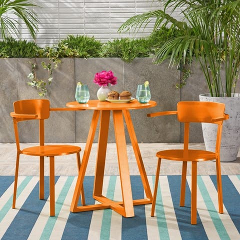 Haiti Outdoor Bistro Set by Christopher Knight Home