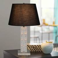"26.25"" Glass Table Lamp"