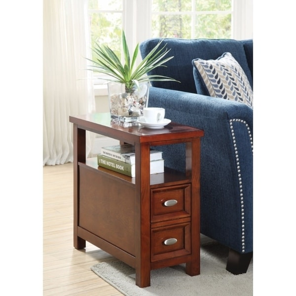 Astonishing Side Table, Cherry Brown
