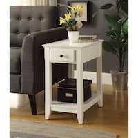 Affiable Side Table, White