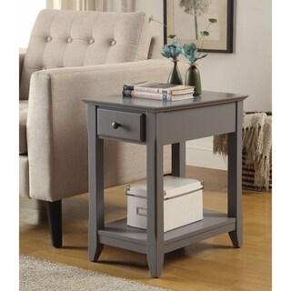 Astonishing Side Table, Gray